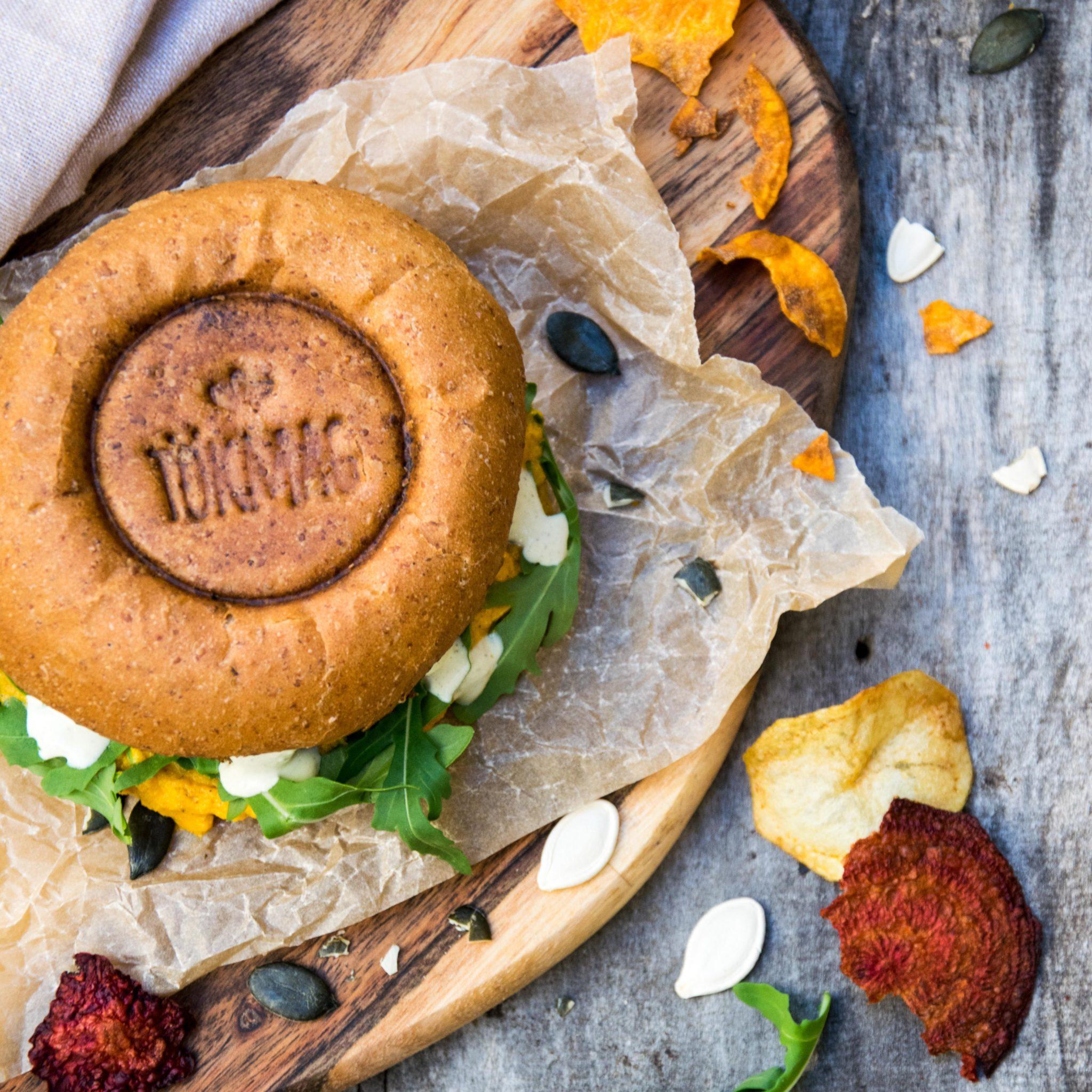 Tökmag vegan burger Budapest