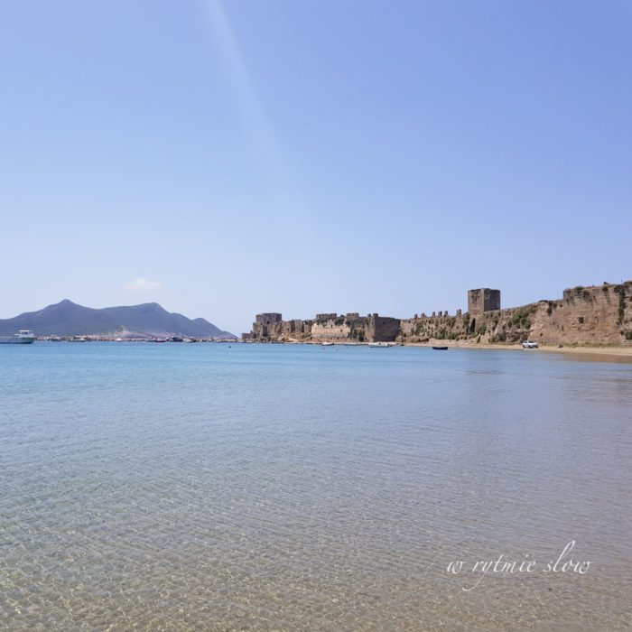 Methoni zamek w Grecji