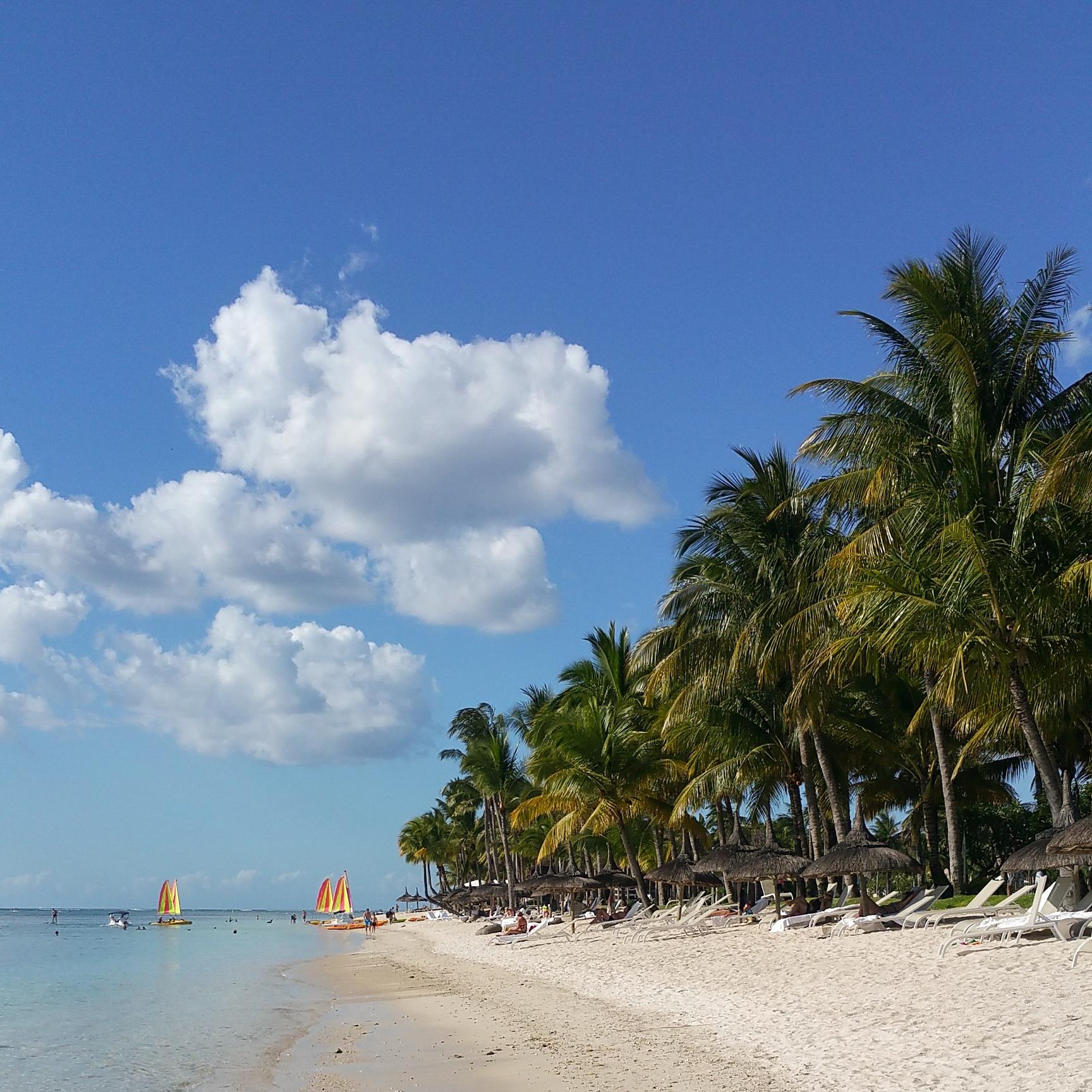 plaże na Mauritiusie
