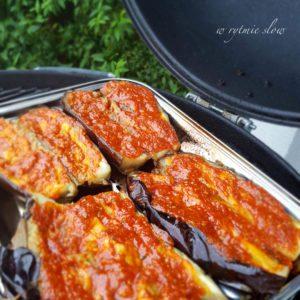 bakłażan z grilla