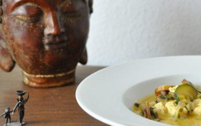 Zupa kokosowa z tofu – wegańskie smaki