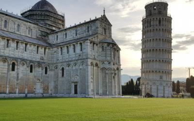 Piza, Krzywa Wieża bez tłumu turystów