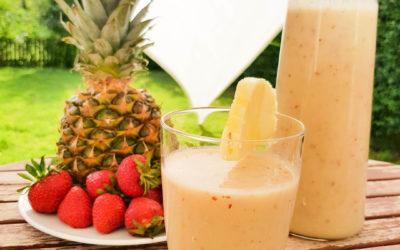 Ananasowe smoothie na słoneczny dzień