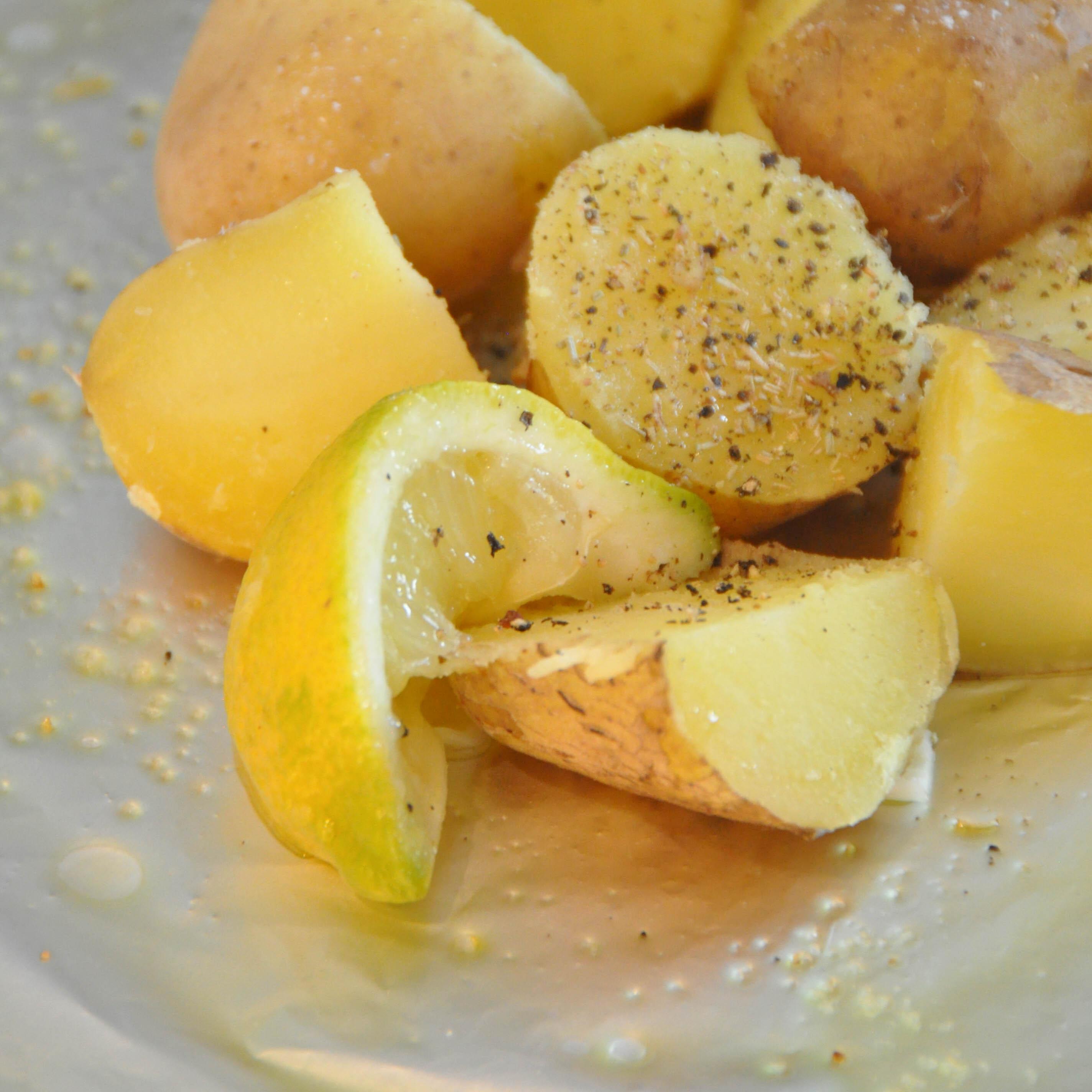 cytrynowe ziemniaki na grilla