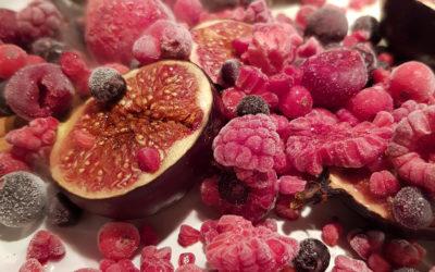 Zapiekane figi z lodami – deser po wegańsku