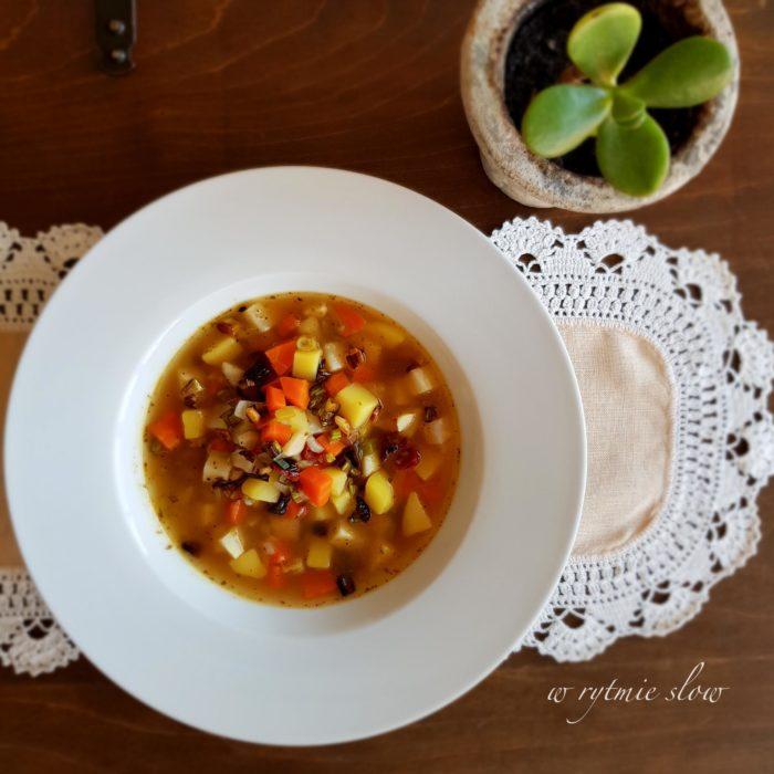wegańskie zupy