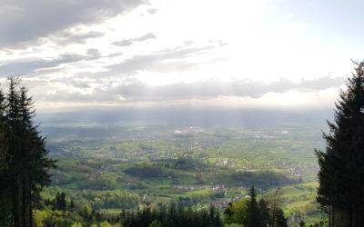 Schwarzwaldhochstrasse, zachwycająca panorama