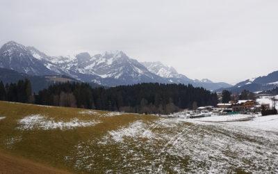 Spacer przez austriacki Tyrol i coś na rozgrzewkę.