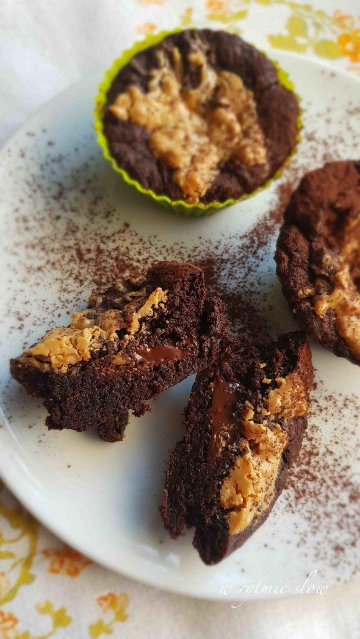 Muffinki à la brownie