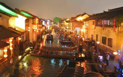 Shantang Jie – spacerkiem przez Suzhou.