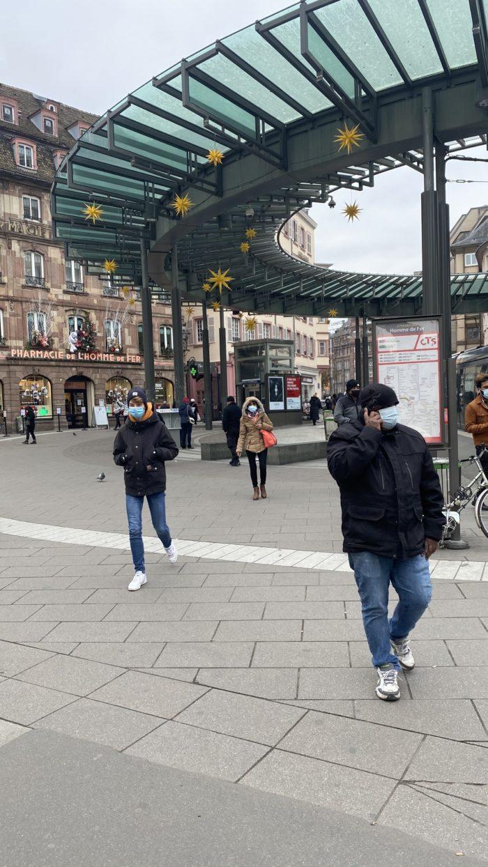 Spacer po Strasbourgu.