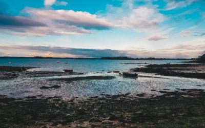 Vannes i zatoka Morbihan we francuskiej Bretanii